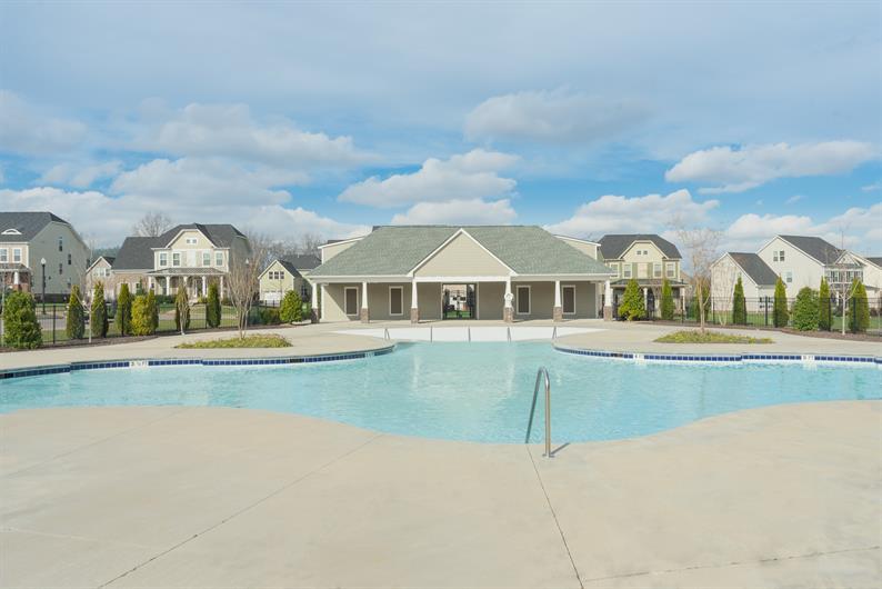 Community Pool & Cabana
