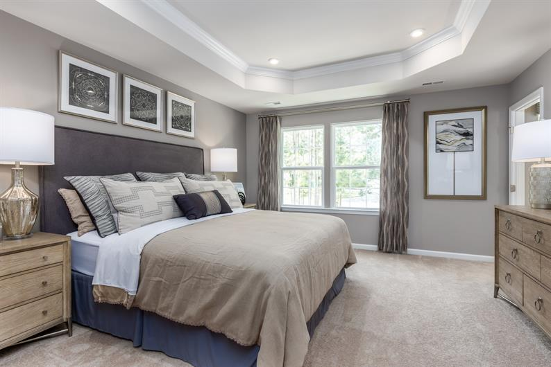 Owner's suites include a roomy closet and private bath