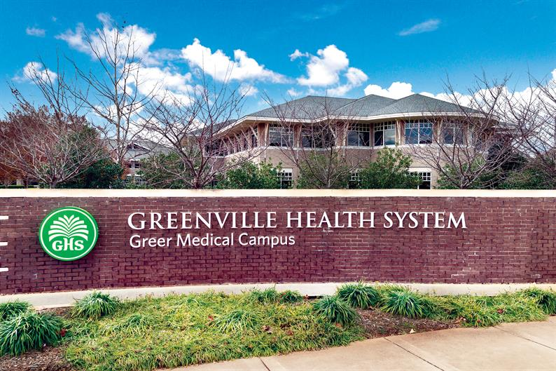Greer Medical Campus nearby