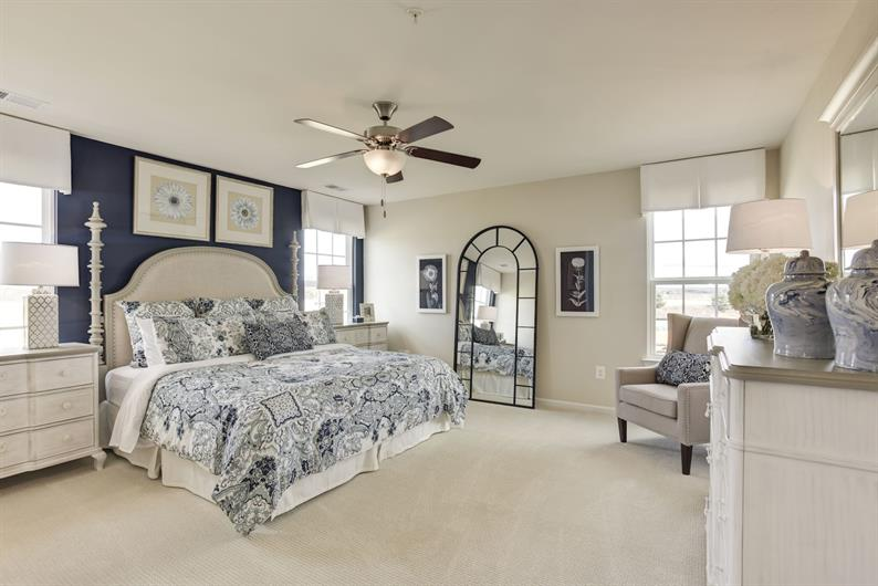 YOU DESERVE THIS SPACIOUS OWNER'S SUITE