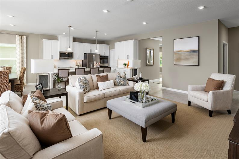 HOMES WITH EXPANSIVE LIVING ROOMS