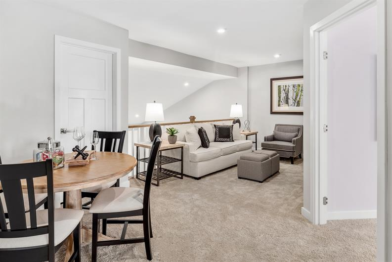 Floorplans that accommodate game night or a home office!