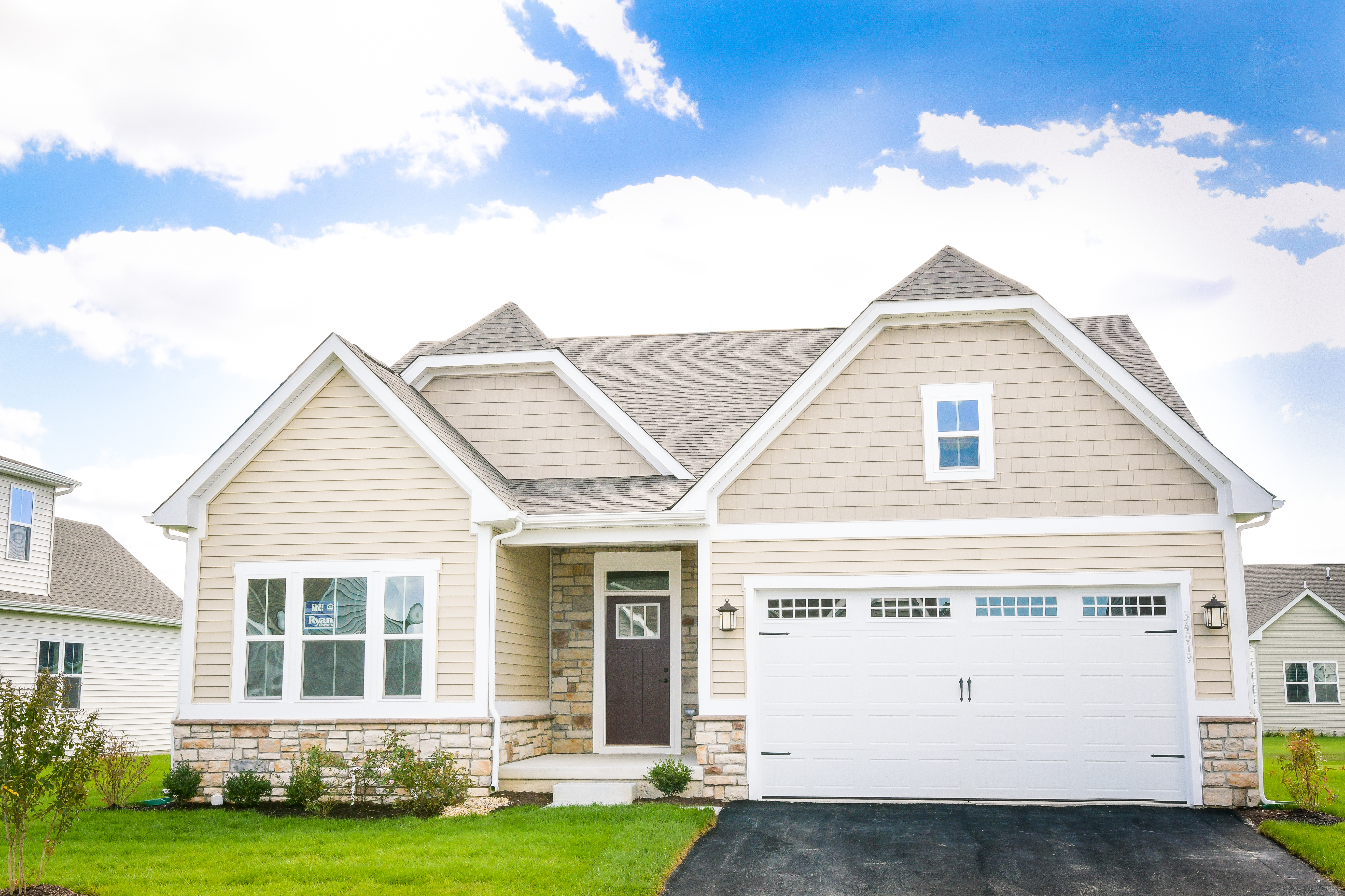New Homes for sale at The Preserve At Deep Creek 55+ in