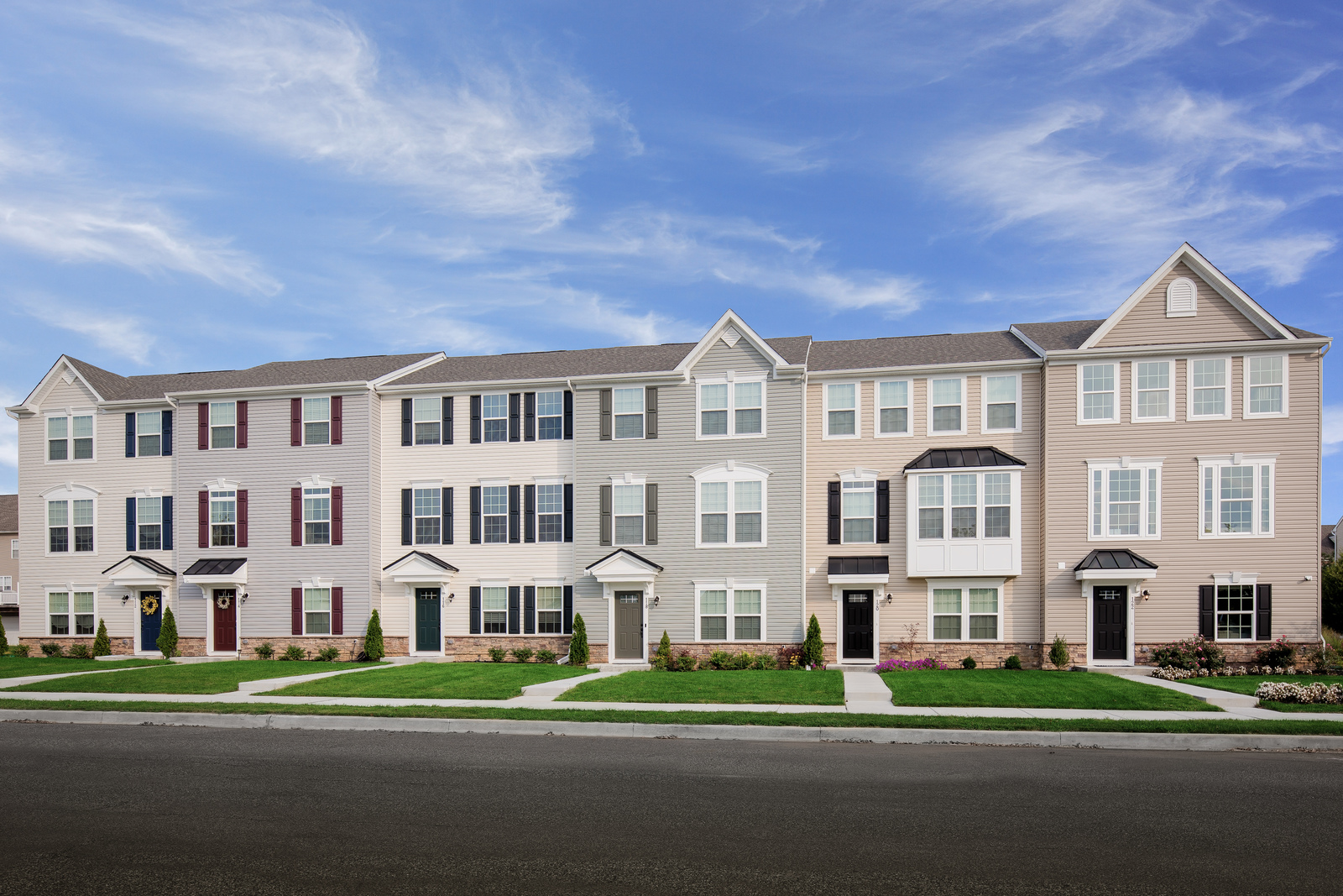 New Homes For Sale At Chestnut Hill Preserve Townhomes In Newark