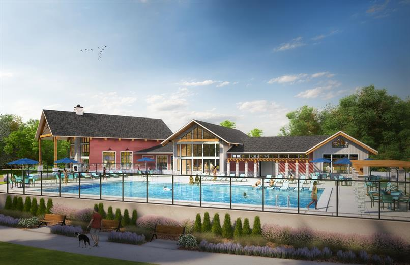 The Retreat at Patuxent Greens Clubhouse & Pool