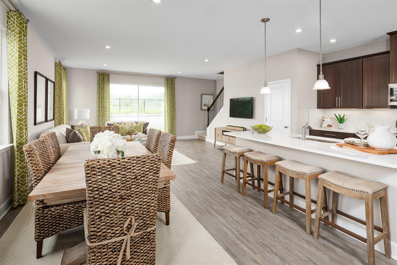 Holden Ridge Townhomes include it all