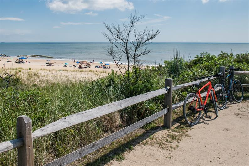 Bike to Town or the Beach from your Home