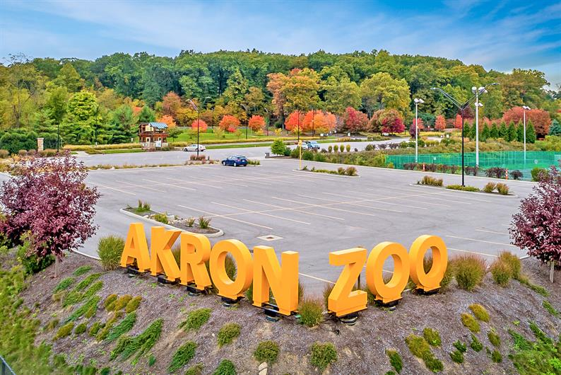 For weekend fun the Akron Zoo is always a family favorite