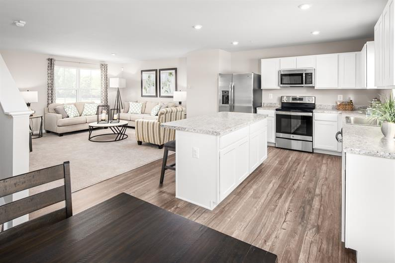 Enjoy your freedom with Westhaven's Spacious floorplans