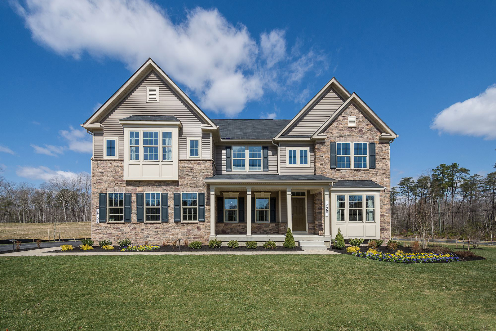 New homes for sale at falls grove in college grove tn for Modern homes for sale in virginia
