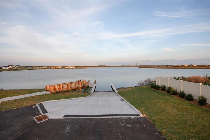 Community boat Ramp For Water Activities