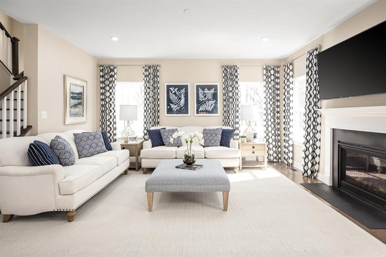 OPEN AND INVITING LIVING SPACES