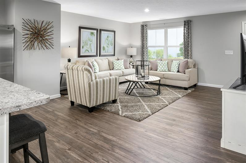 Open-concept homes with modern finishes at an affordable price