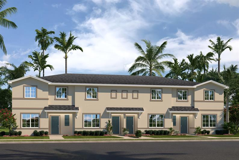 TOWNHOMES AT MAGNOLIA SQUARE IN FORT PIERCE
