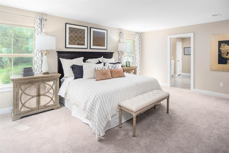 Relax and unwind in your spacious Owner's suite