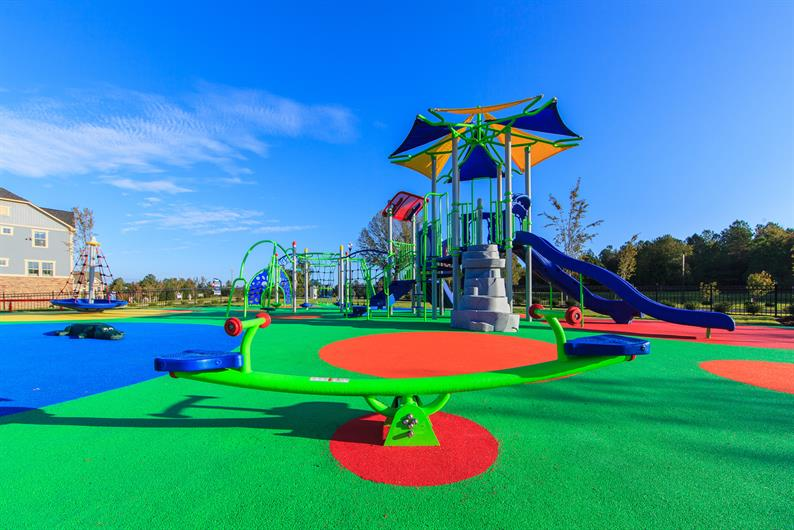 The Coolest Playground and Splash Park in Town