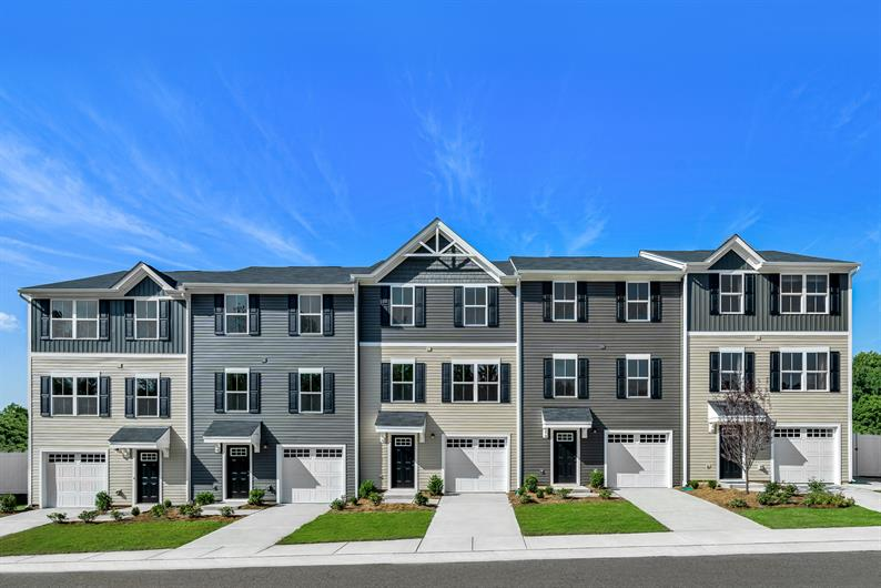 Own a new townhome for the same or less than rent!