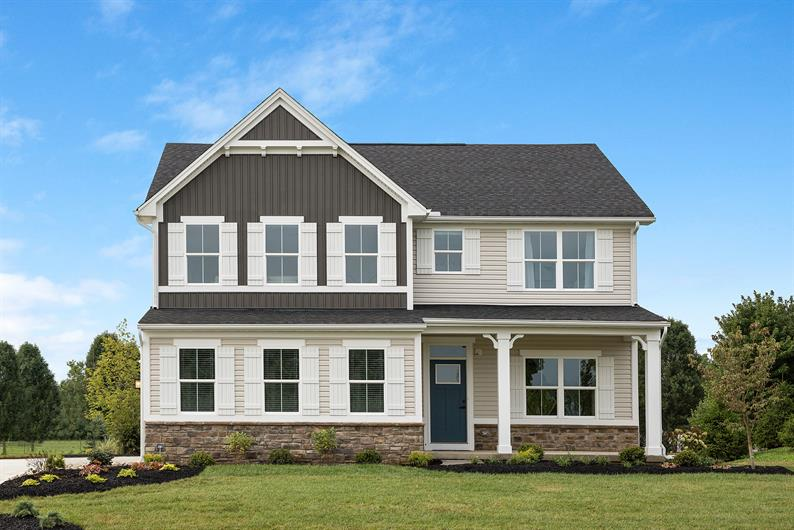 Welcome to Virginia Crossing, single-family homes from the low $600s!