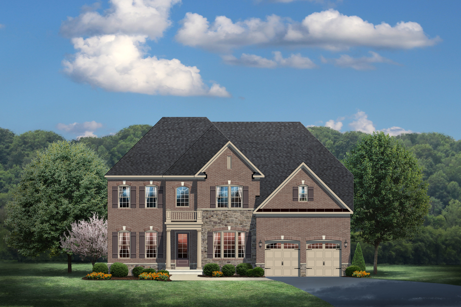New chapel hill ii home model for sale heartland homes for Heartland homes pittsburgh floor plans