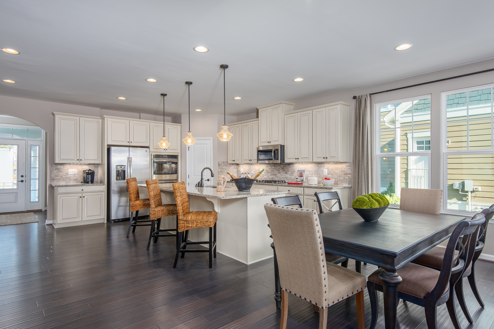 Somerset View at Willowsford First Floor Living