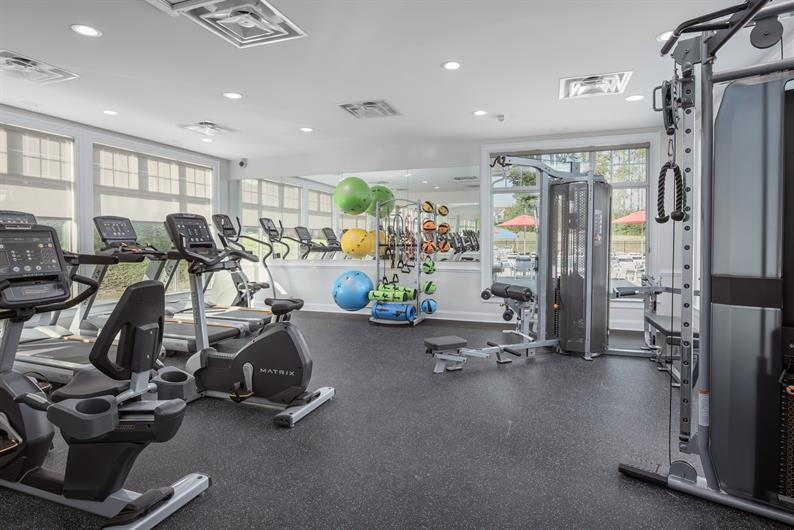 Cut the gym membership! We've got one in Silverleaf!