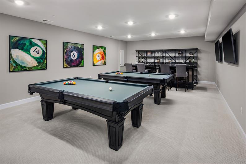 Finished Rec Room Options