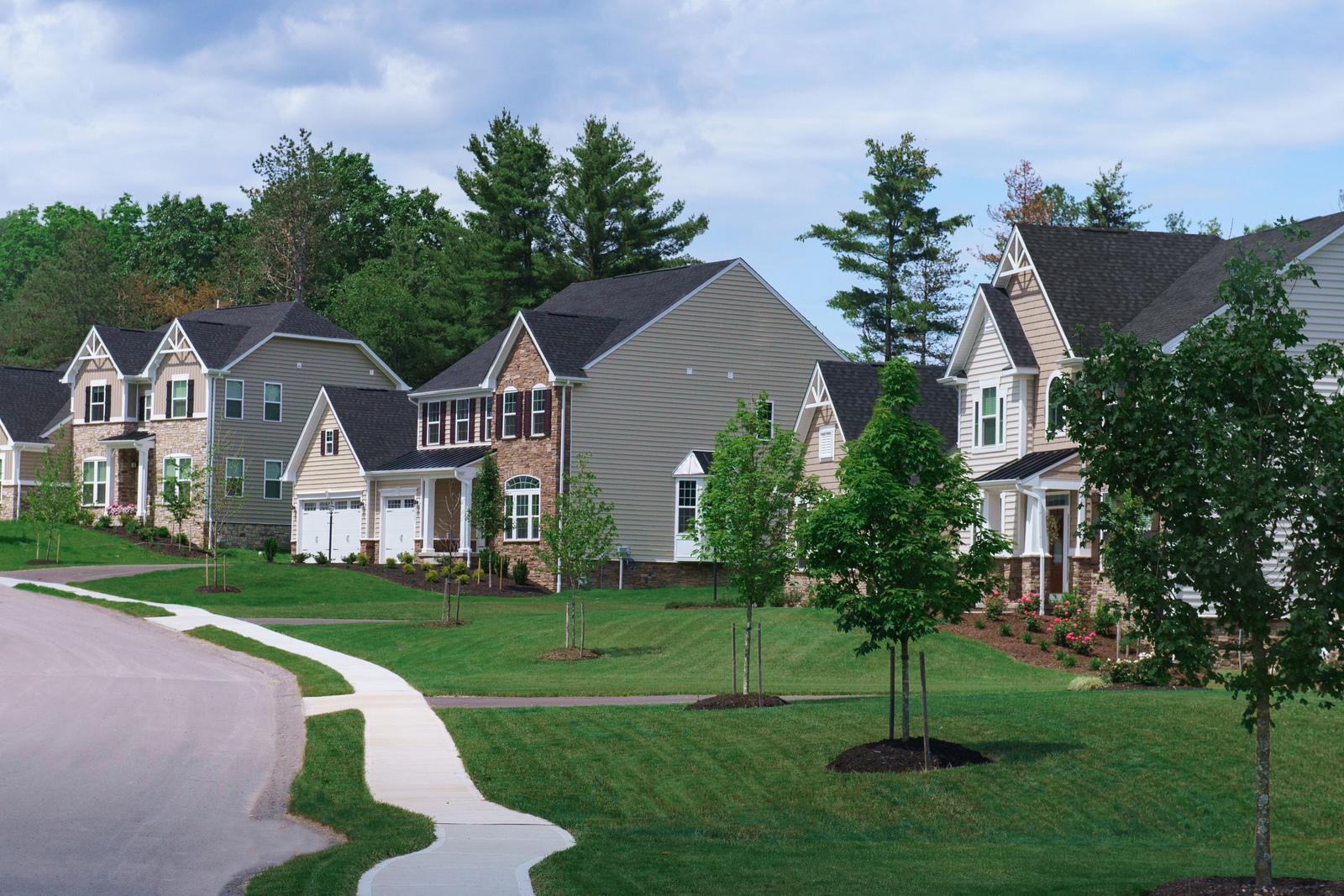 Welcome To Silver Summit. Wooded Homesites In Robinson Township With Beautiful  Luxury Homes.
