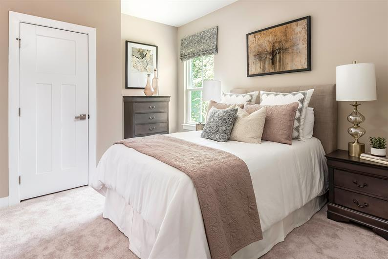 LARGE SECONDARY BEDROOMS & BATHS