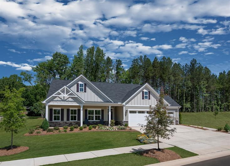 Ranch Floorplans & 3-Car Garages Available