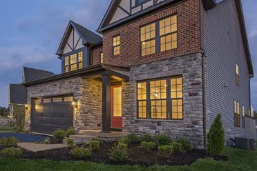 New luxury homes for sale at lake linganore oakdale in new for Cabin branch clarksburg md