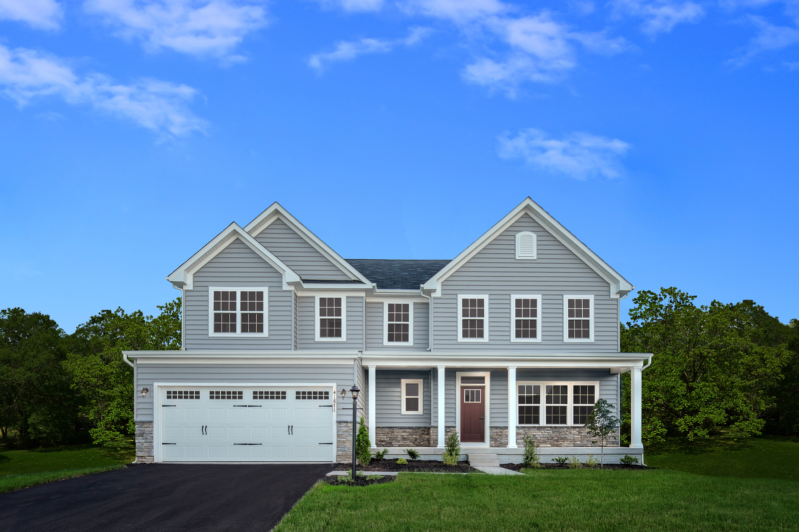 New Homes For Sale At Auburn Meadows In Farmington Ny Within The