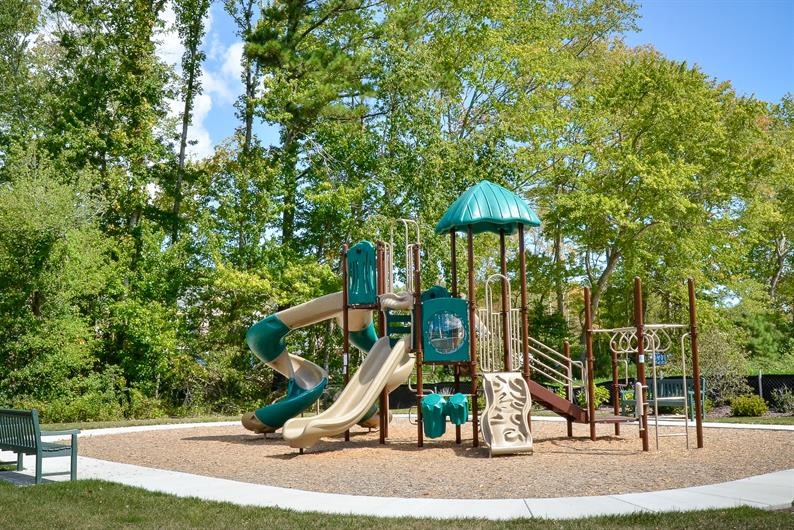 The kids will enjoy the community playground