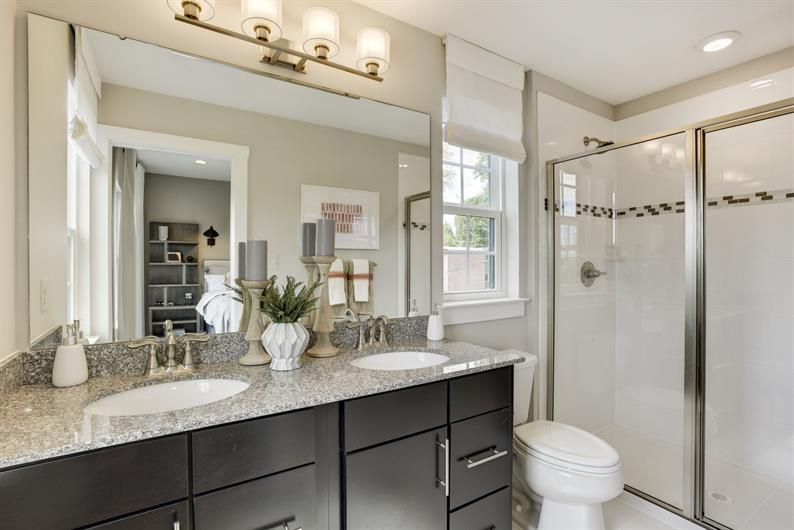Bathrooms designed for busy mornings