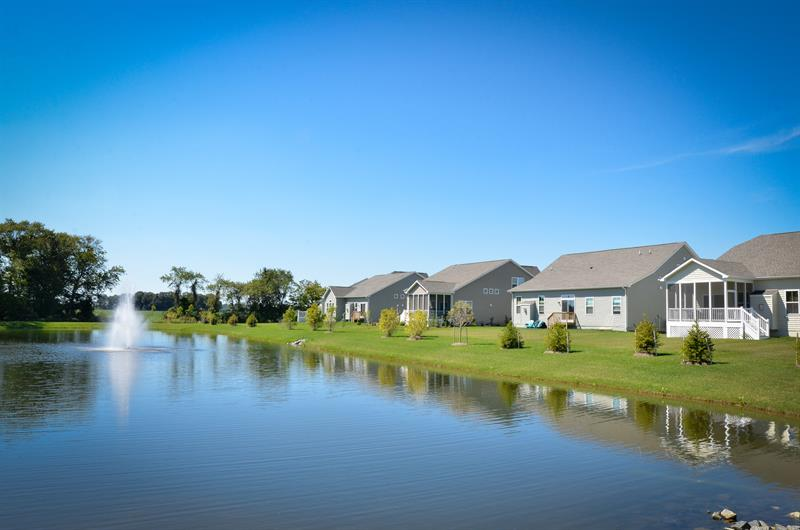 Most homesites back to woods or a pond