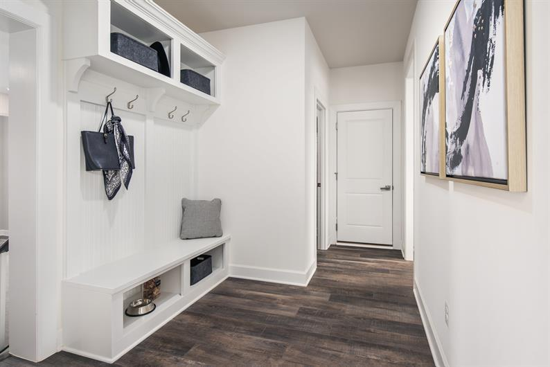Clutter-Free Entryways