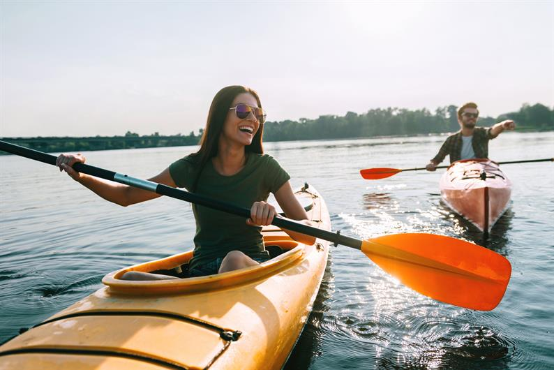 Kayak with the one you love