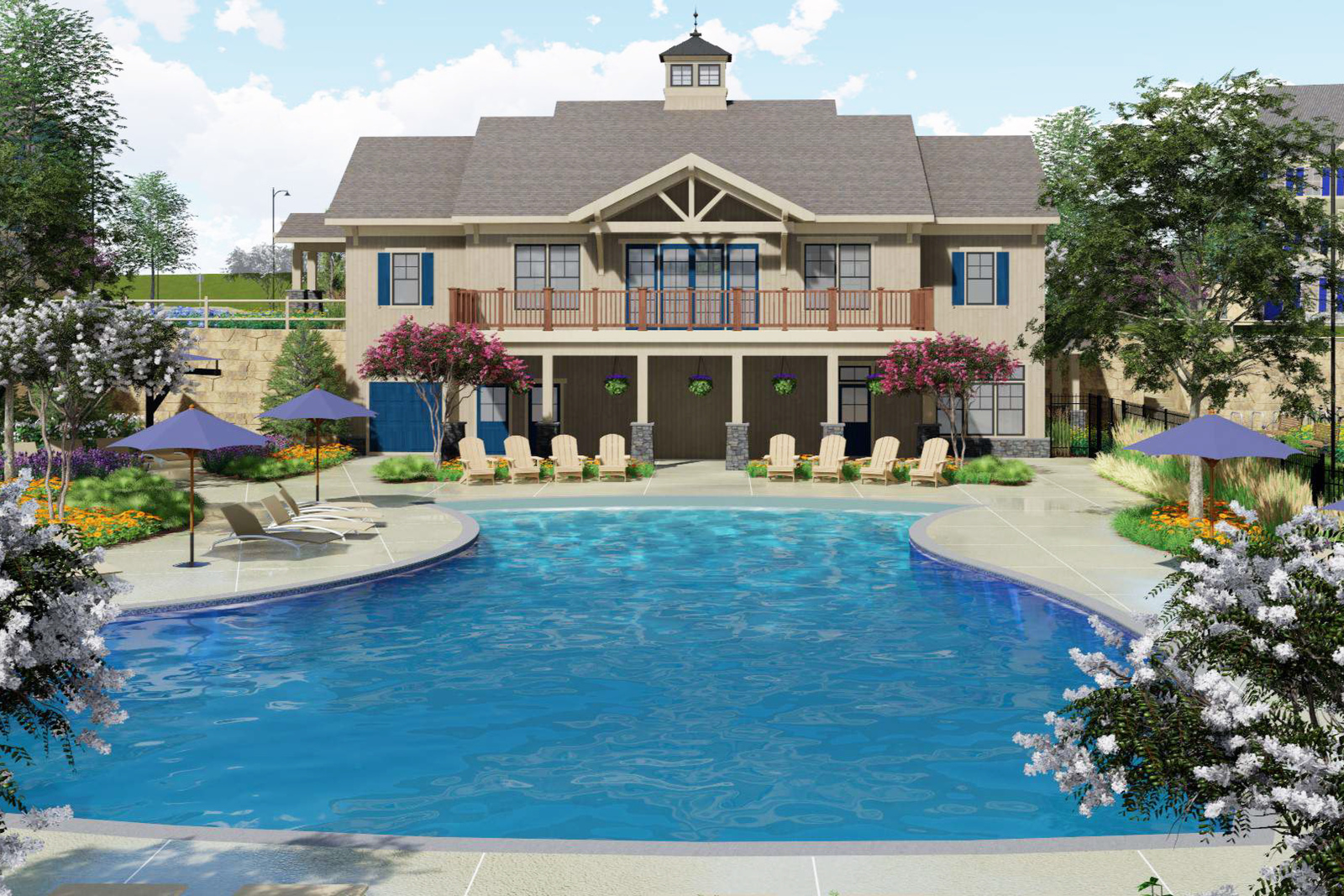 Make everyday extraordinary with ample amenities and entertainment for the whole family!