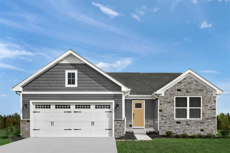 2-CAR GARAGE & FLOORPLANS FROM 1,153 - 1,696 SQ. FT. PLUS SHEDS PERMITTED FOR ALL YOUR STORAGE NEEDS