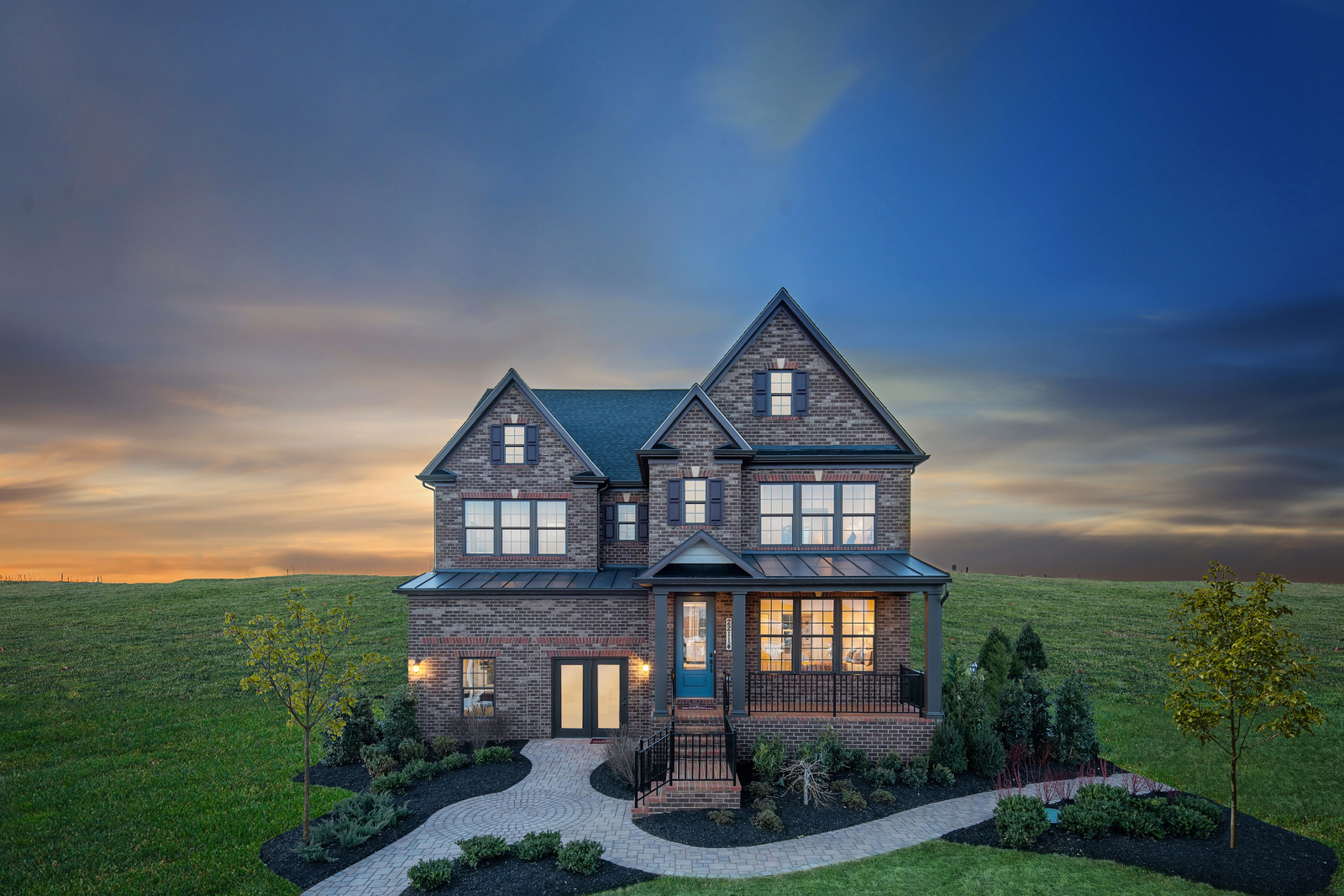 New luxury homes for sale at cabin branch in clarksburg for Cabin branch homes