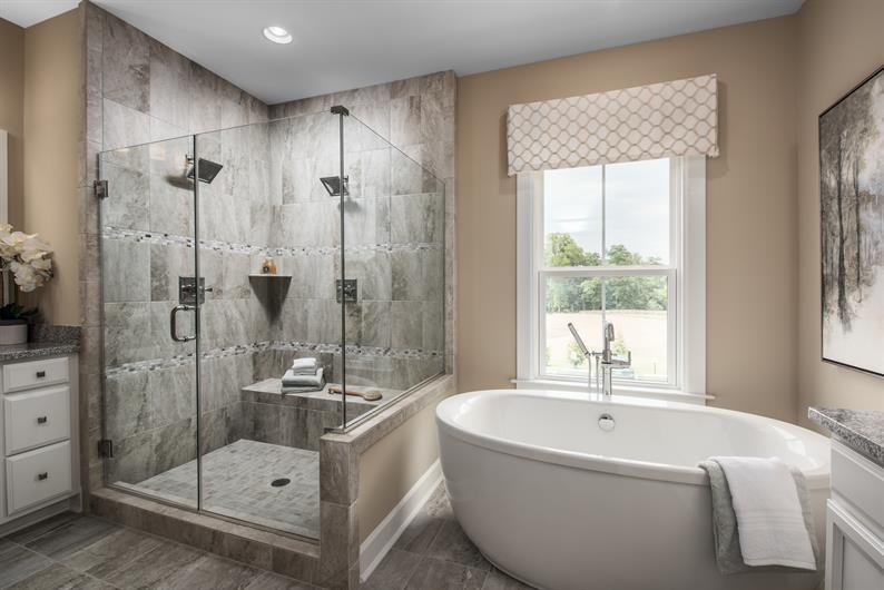Spa-like Owner's Bathroom