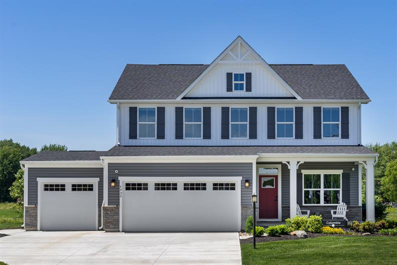 Craftsman style exteriors create maximum curb appeal
