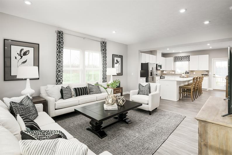 Low maintenance living included at Richmont Townhomes