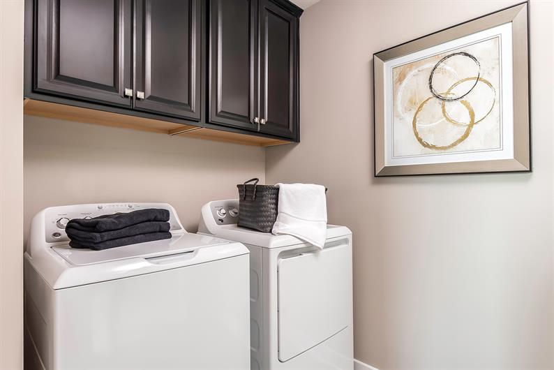 LAUNDRY ROOMS JUST STEPS AWAY MAKES LAUNDRY DAY A BREEZE