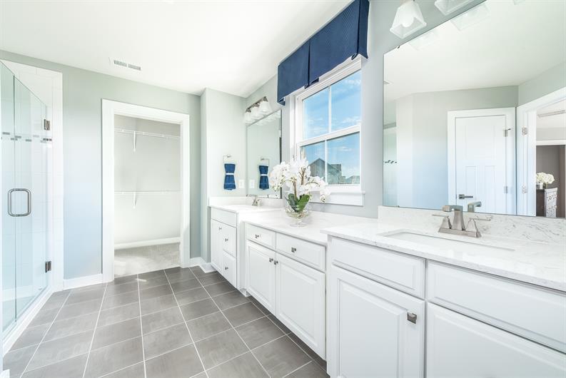 An Owner's bathroom that feels like a retreat
