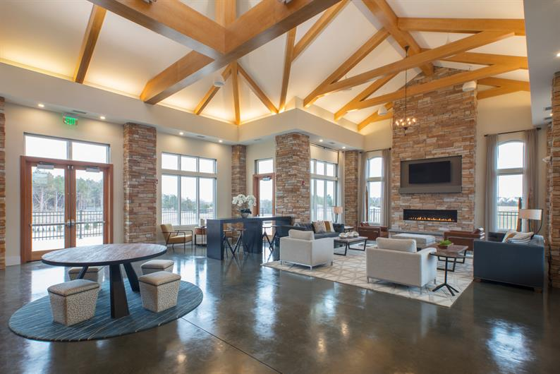 winner of the 2018 Max Award of Excellence for Outstanding Clubhouse!