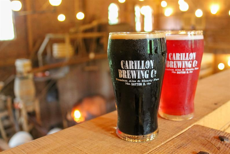 ENJOY AN EVENING OUT AT CARILLON BREWING CO. IN THE HISTORICAL PARK