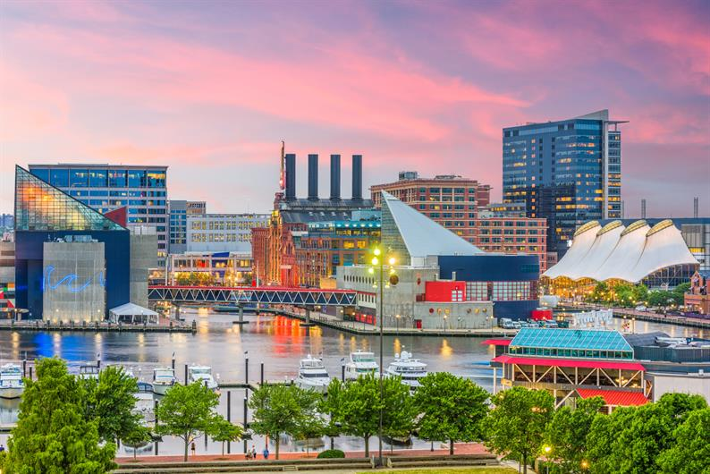 Enjoy easy access to the amenities of Baltimore