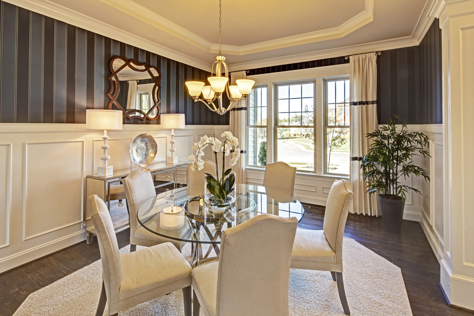 Your formal Dining Room is a wonderful place to entertain friends and family for holidays and events.