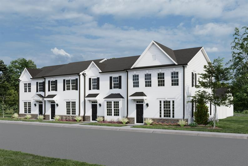 Why rent? Own a 3 bed townhome with fenced-in yard and 2-car garage. From $220's