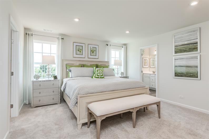 Owner's Suite w/ Double Walk-In Closet